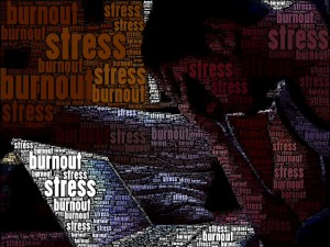 Burnout & Stress, by Florian Simeth, available at https://www.flickr.comhangout-lifestyle/. Commons Attribution 2.0. Full terms at http://creativecommons.org/licenses/by/2.0