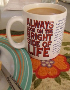"""Always Look on the Bright Side of Life,"" by Vanessa Pike-Russell, available at https://www.flickr.com/photos/lilcrabbygal/. Commons Attribution 2.0. Full terms at http://creativecommons.org/licenses/by/2.0"